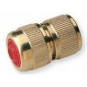 Brass Quick Hose Connector with Shut Off Valve 1/2 inch Hose